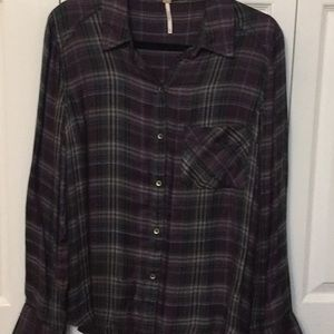 NWOT. Flannel shirt